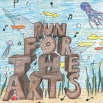 1st Runner Up 2013 Run For The Arts T-Shirt Design Contest
