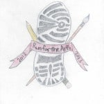 Honorable Mention 2013 Run For The Arts T-Shirt Design Contest