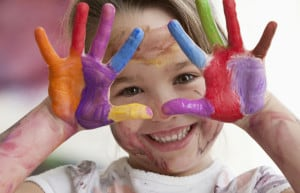 kids love art